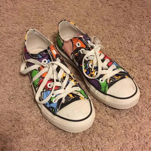 78a1a927d35e Converse Shoes - Graffiti CONVERSE CHUCK TAYLOR ALL-STARS women sz7